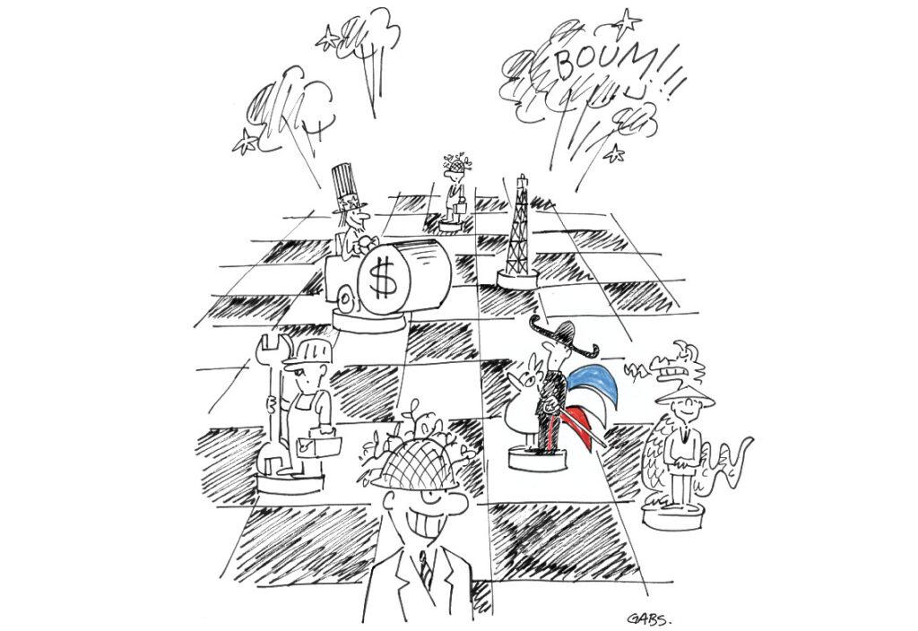 Guerre économique et épidémie