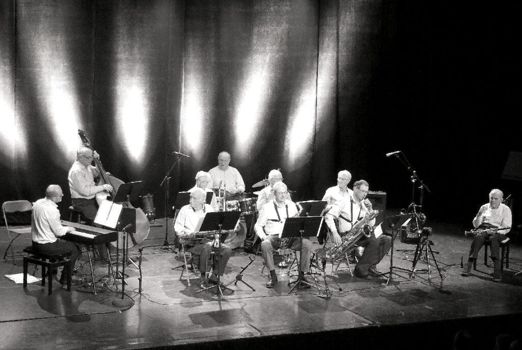 Claude Abadie au festival Jazz à Vian