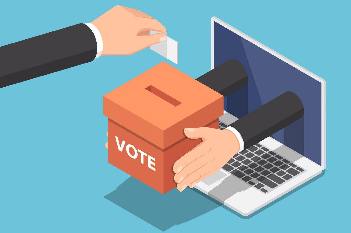 Vote électronique lors de l'Assemblée générale de l'AX