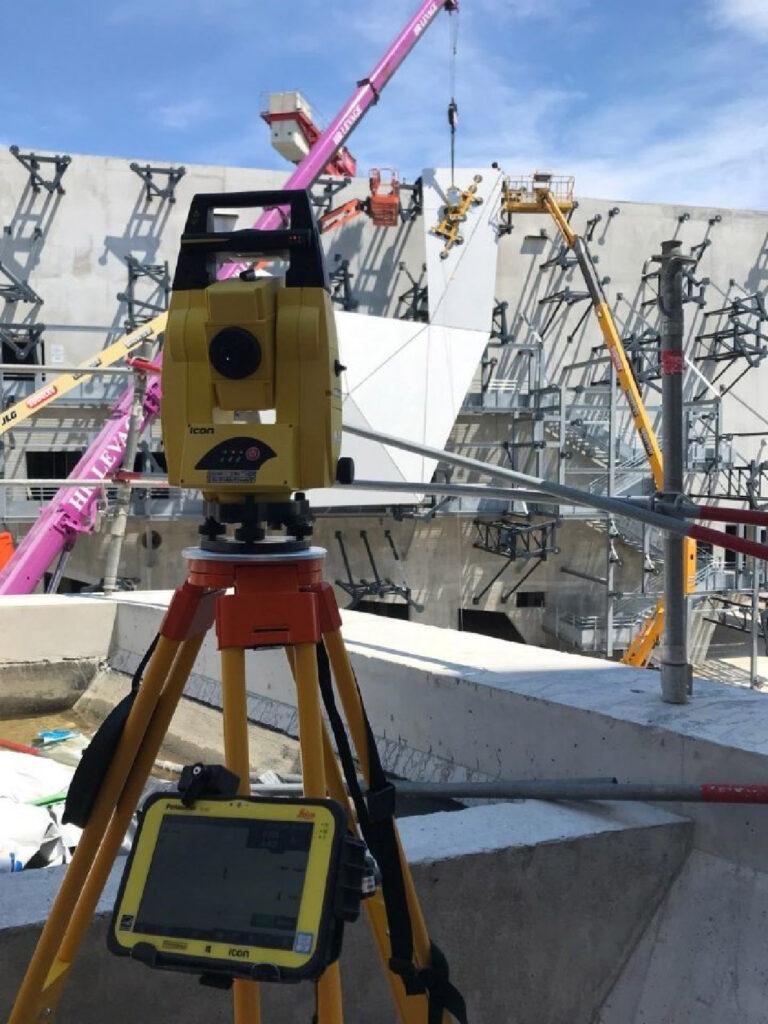 Conception 3D et contrôle de positionnement des écailles en BFUP conçues par Rudy RICCIOTTI à Cannes.