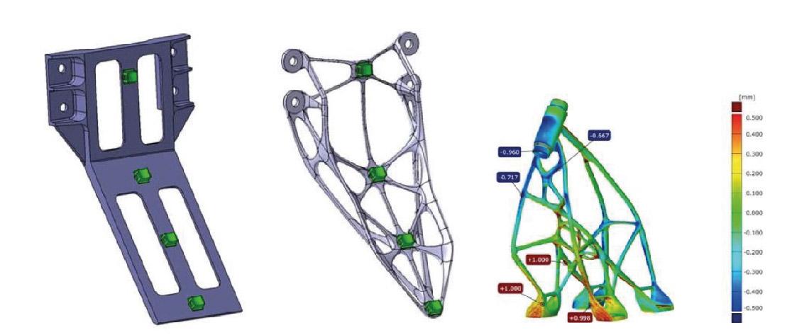 Optimisation topologique par Generative Design.