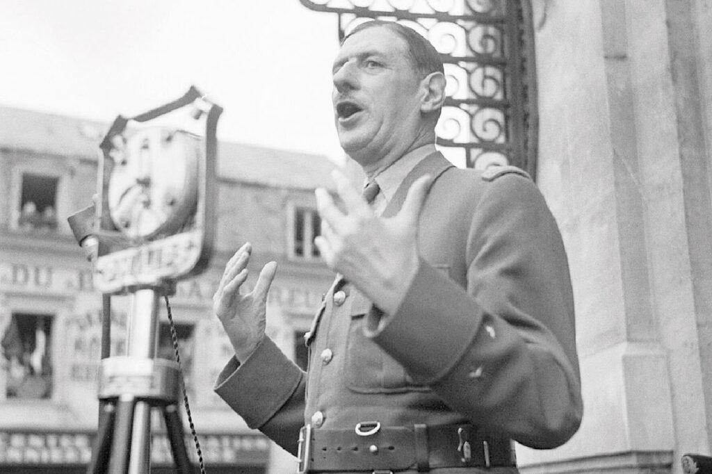 Cheminer avec le général De Gaulle