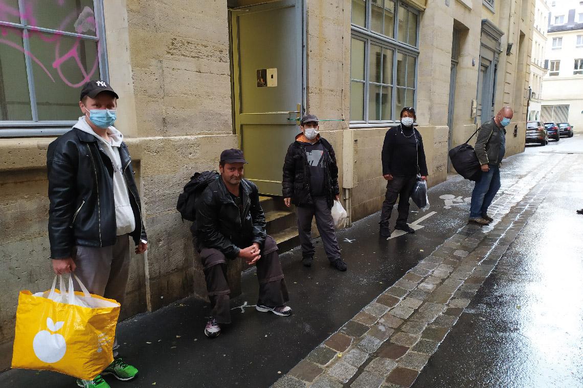La bagagerie Mains libres pour la réinsertion des SDF