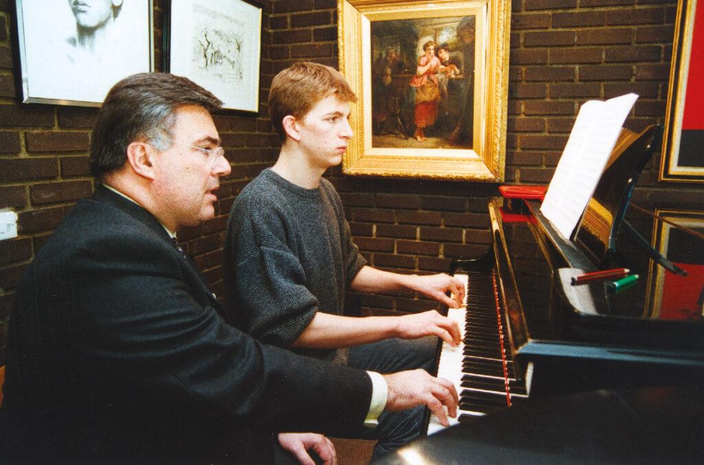 Cours de piano par Me Holiner