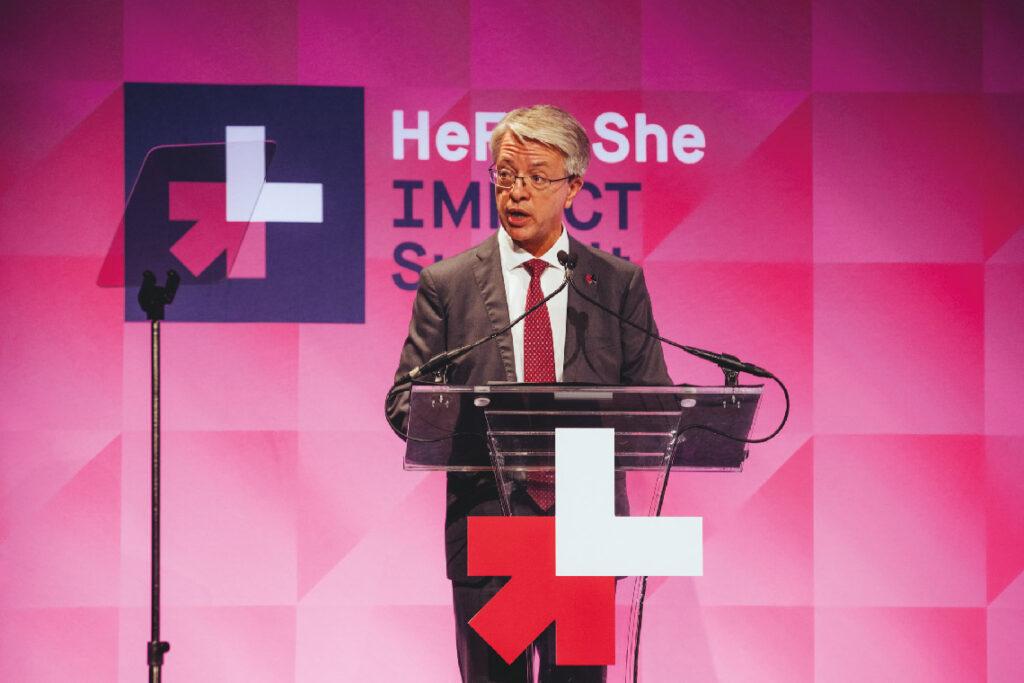 Jean-Laurent Bonnafé au sommet HeForShe d'ONU Femmes