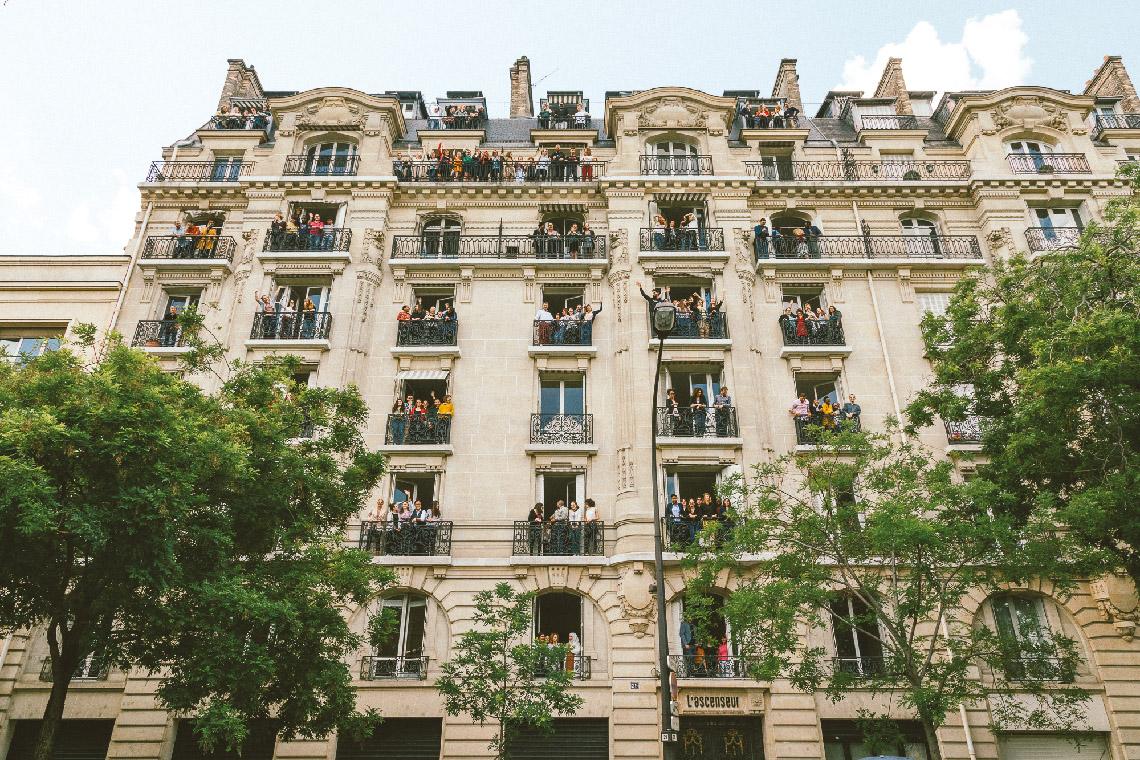 L'Ascenseur, boulevard Bourdon à Paris.