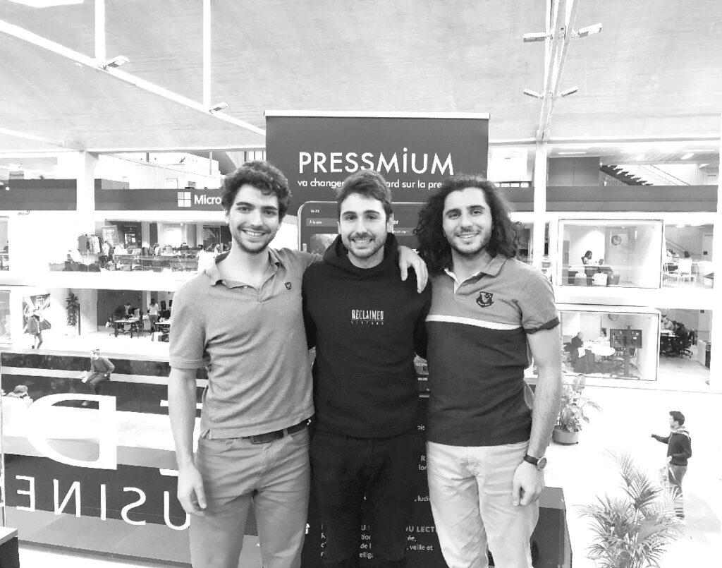 Les fondateurs de Pressmium