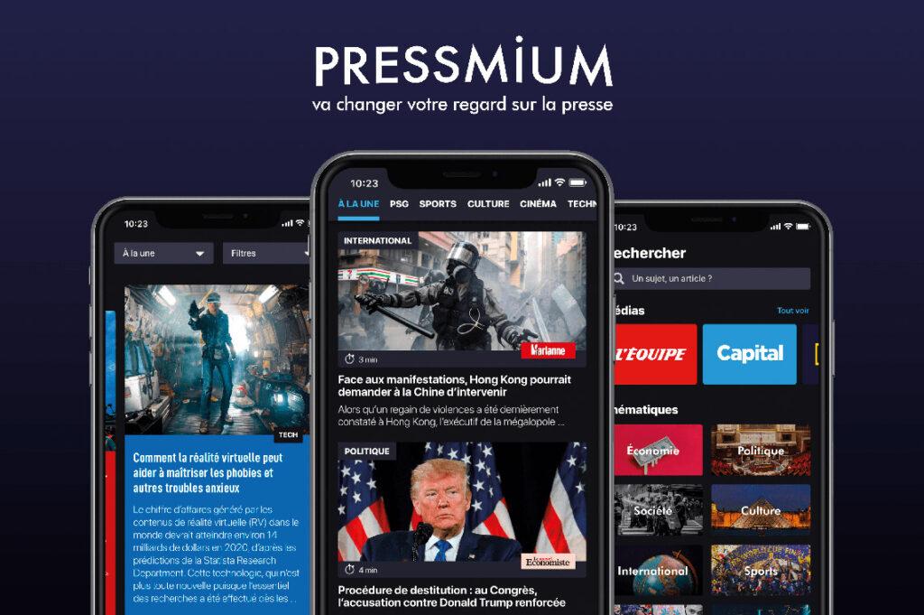 Pressmium, un spotify des medias