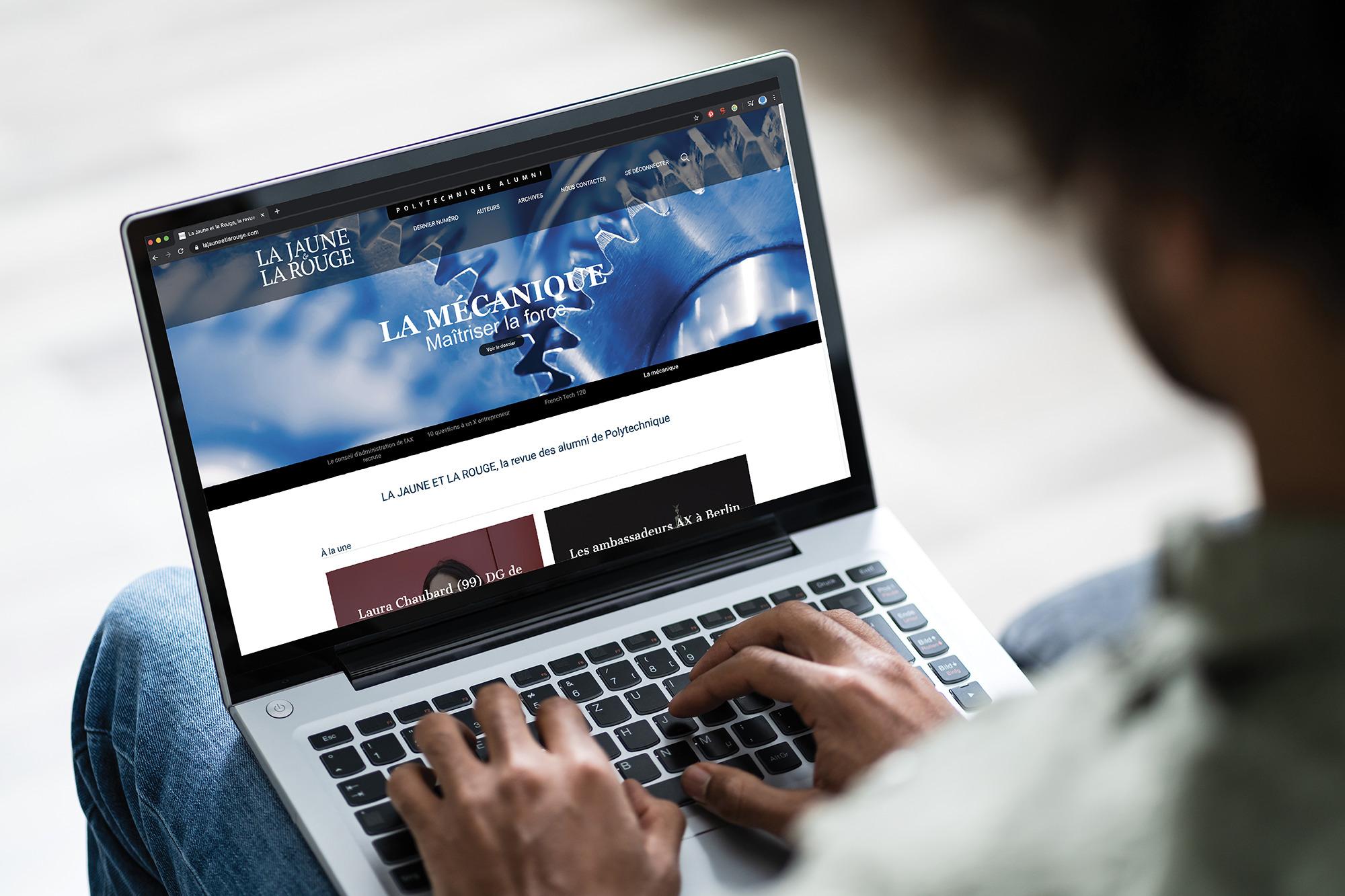 Site internet de la JR