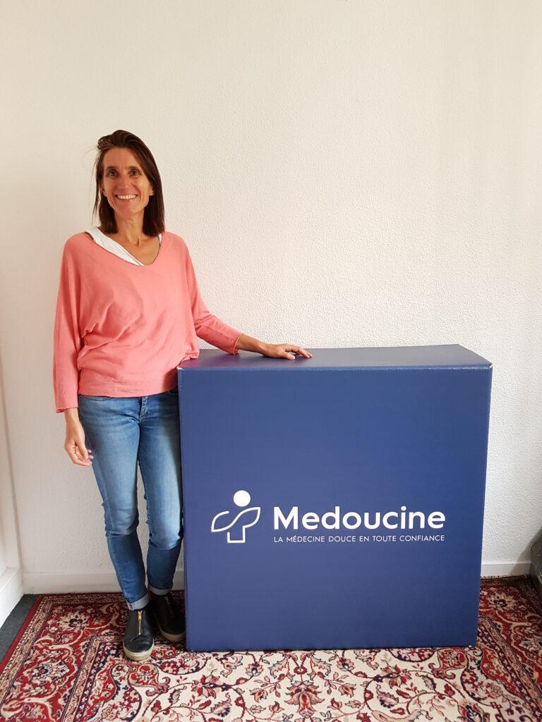 Solange Arnaud est la fondatrice de Medoucine