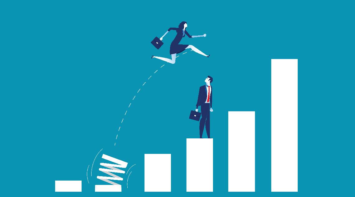 ARE : femme et retournement d'entreprise