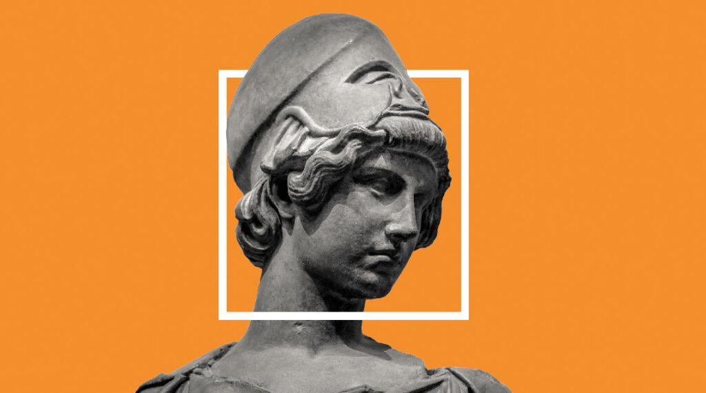 Croire en l'Europe, un enjeu de civilisation, Athéna, déesse de la cité
