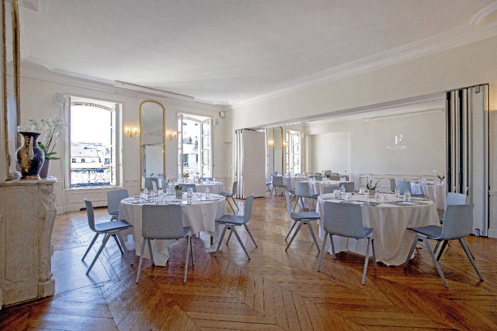 Salon Arago Gay Lussac de l'hôtel de Poulpry, maison des X