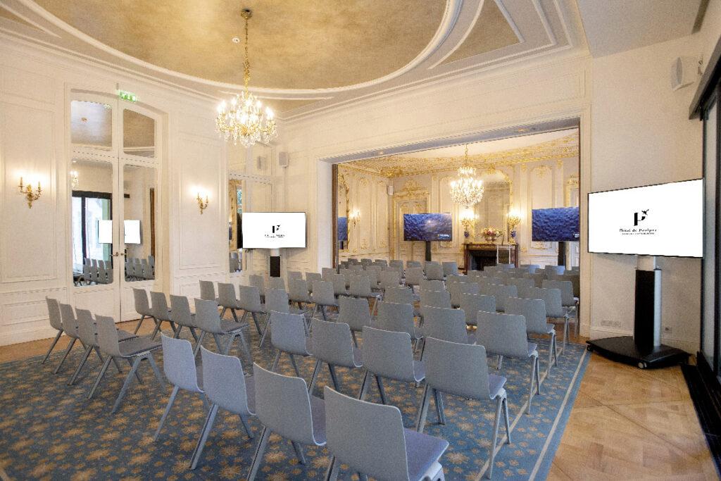 Salon quadrille maison des X, hôtel de Poulpry