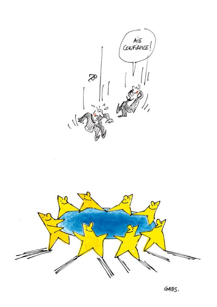 L'entre-deux d'une Europe entre confiance et craintes