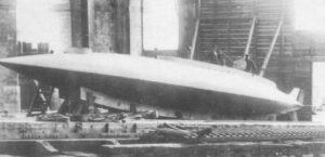 Le Gymnote conçu par l'ingénieur de Génie maritime Gustave Zédé
