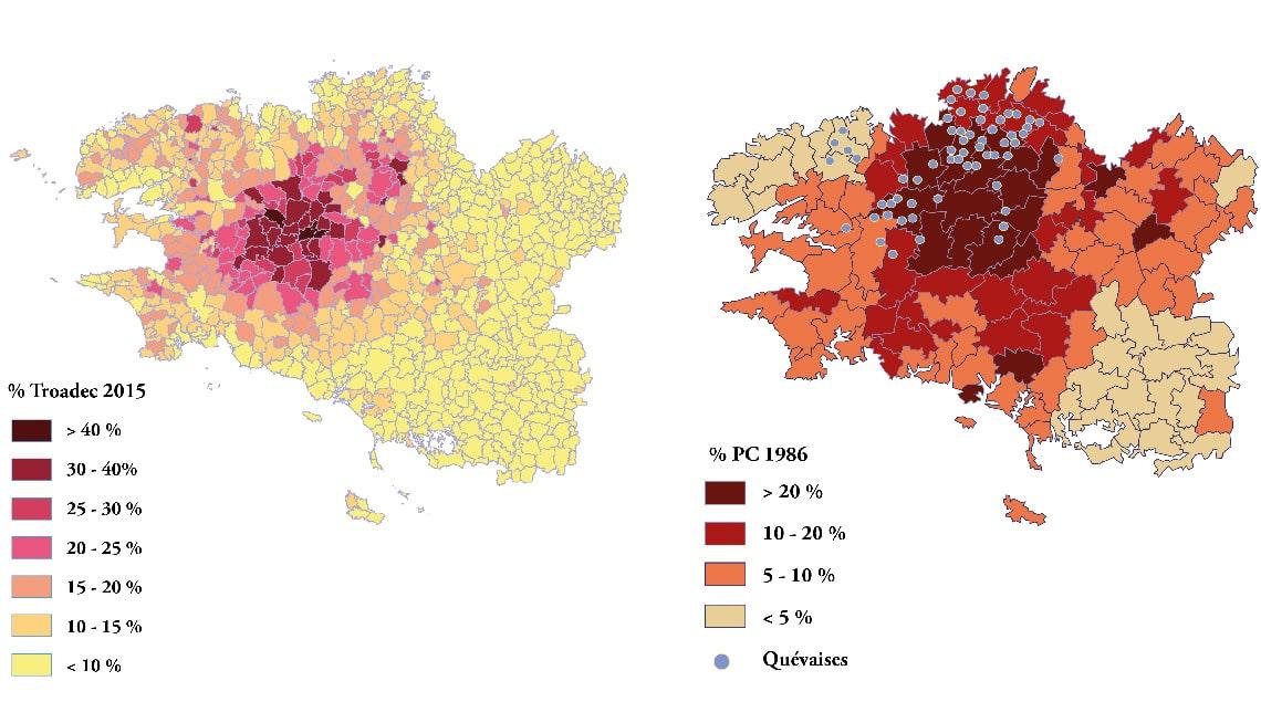 diversité territoriale française à travers les Bonnets rouges en Bretagne