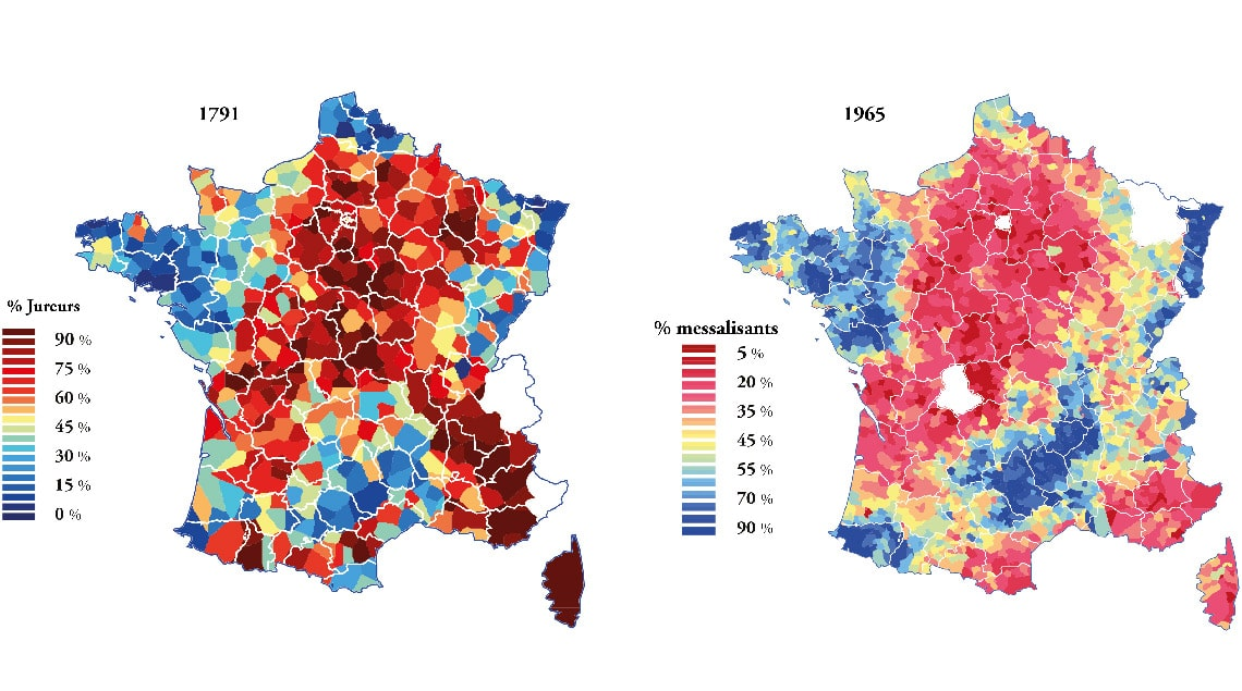 diversité territoriale : la France Catholique