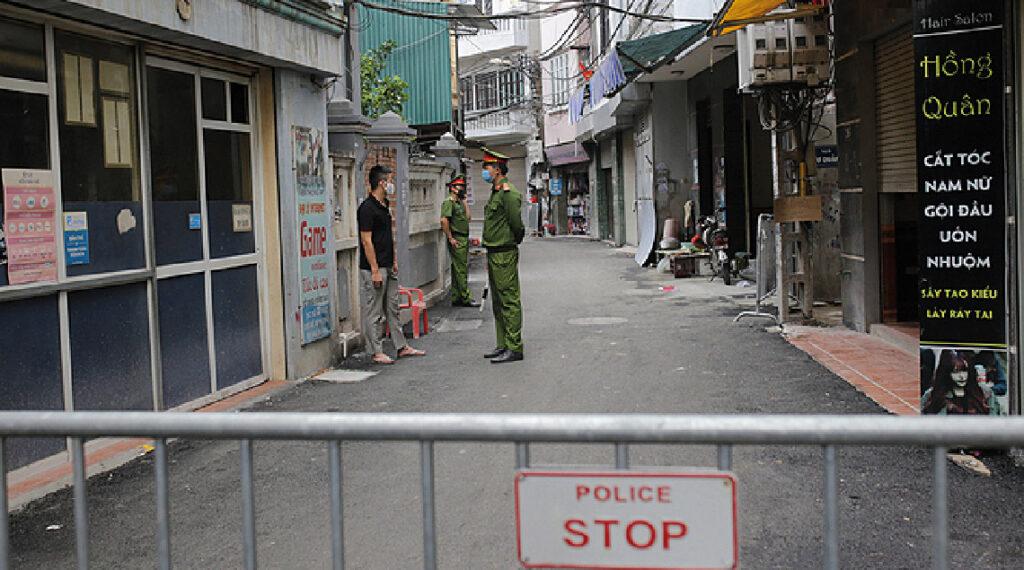 Vue de Hanoï au Vietnam pendant la crise de la Covid-19