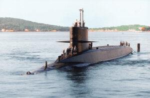 Le Redoutable, conçu par l'ingénieur du Génie maritime Jacques Chevallier