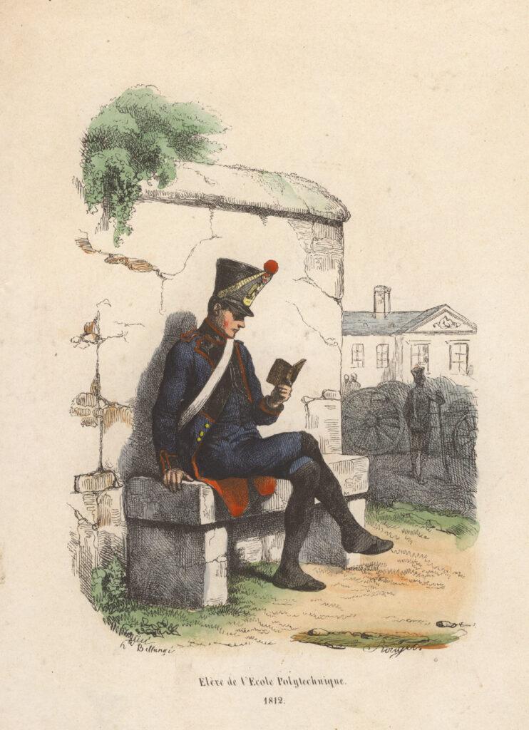 Élève de l'École polytechnique en 1812