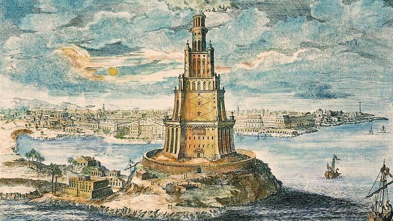 L'étymologie du port nous rappelle le phare d'Alexandrie