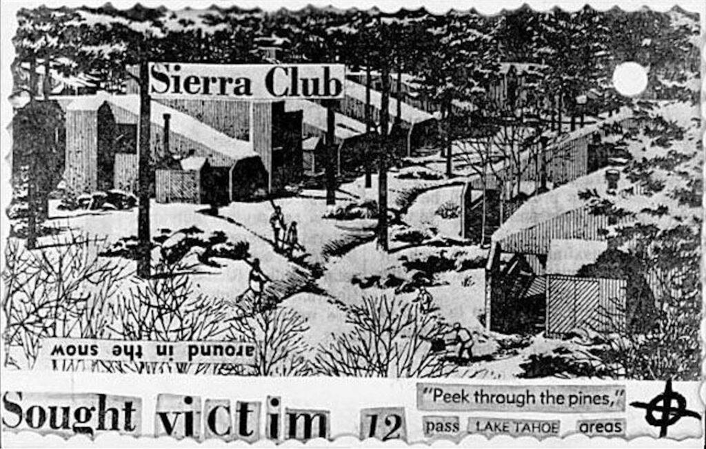 Une carte postale fabriquée par le Zodiaque à partir d'un prospectus fait référence à une douzième victime.