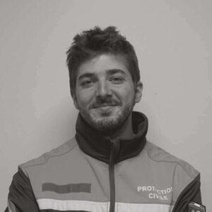 Vitali Caplain, bénévole à la Protection civile