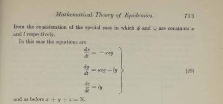 Covid-19 Théorie mathématiques des épidémies