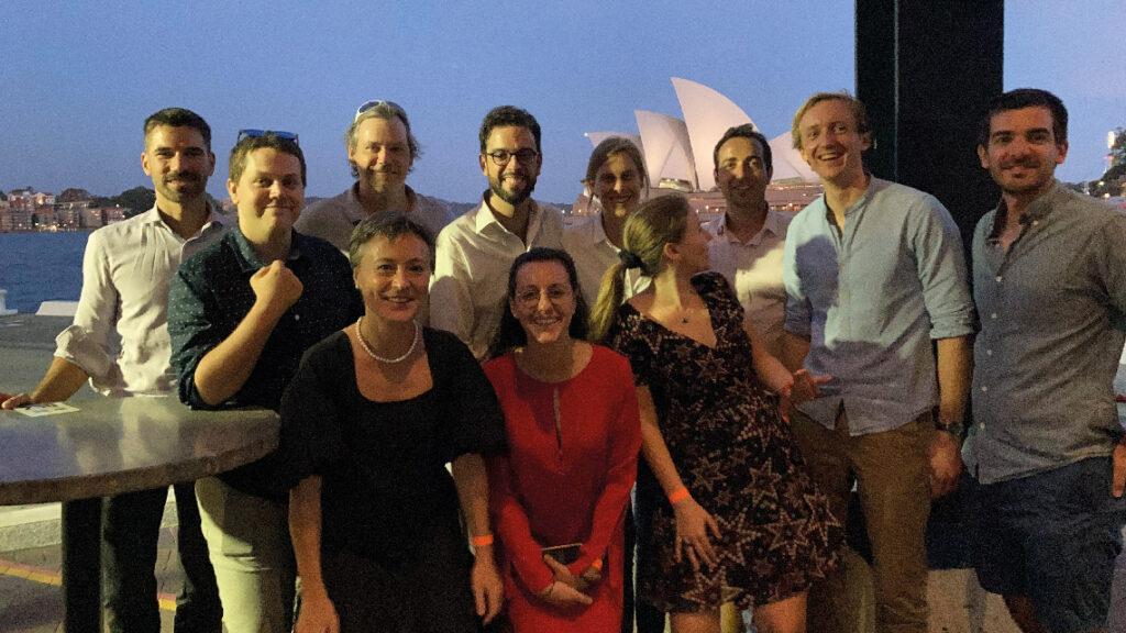 Réunion AX Ambassadeurs en Australie en 2020.