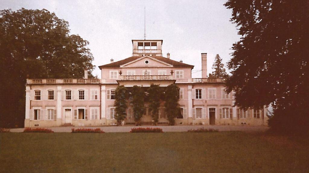 Le château d'Umkirch, résidence de Pierre Pène