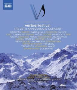 Affiche du 25e festival de Verbier