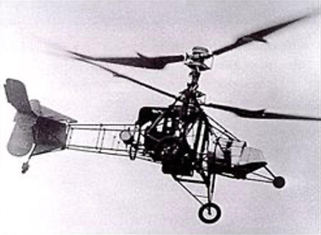 Le gyroplane Breguet-Dorand Laboratoire : premier hélicoptère réussi Louis Breguet franchit 44 km en novembre 1936.