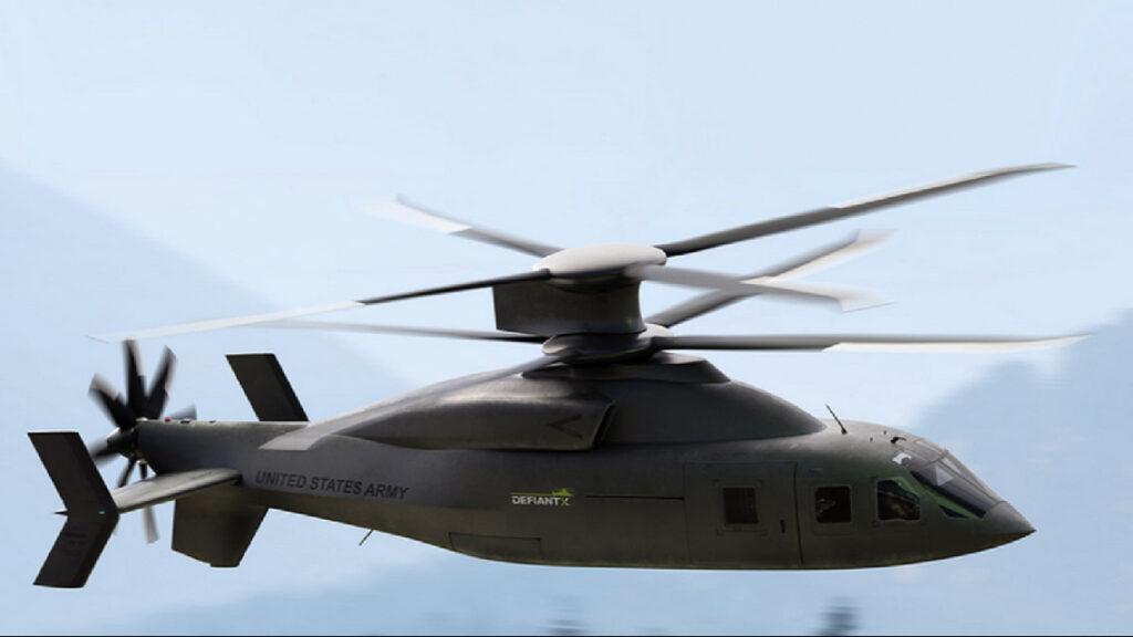 Projet de combiné US Defiant de Sikorsky Boeing.