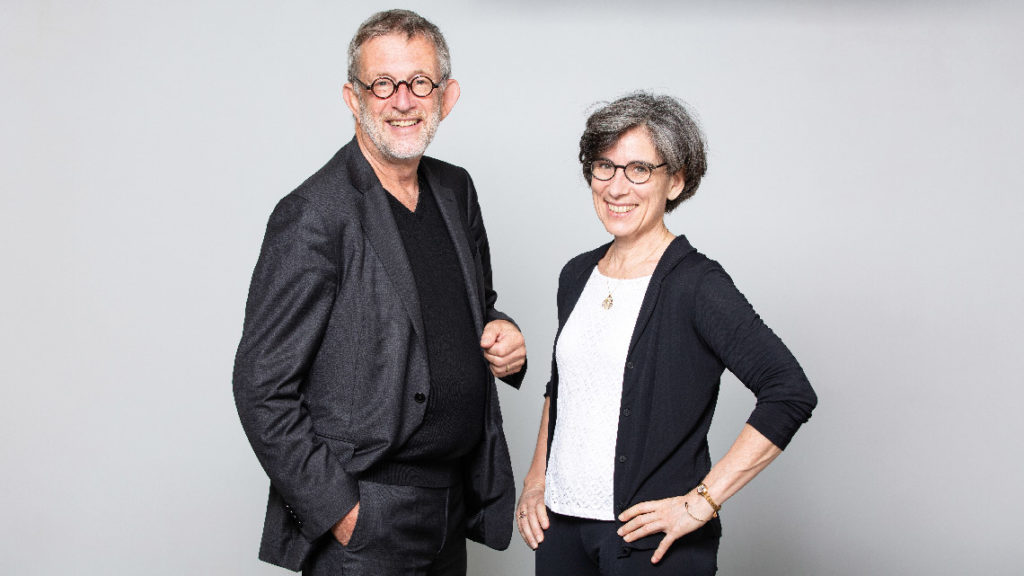 Cécile Tharaud (84) et Denis Lucquin (77) qui pilotent le projet Polytechnique Ventures