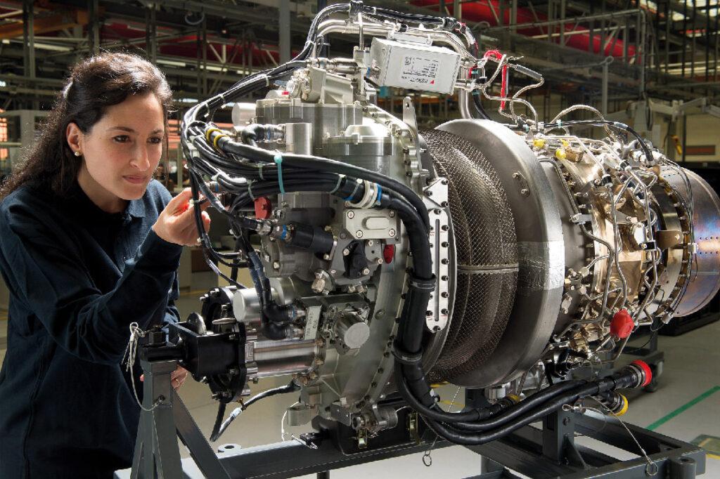 L'Arrano, l'un des derniers-nés de Safran Helicopter Engines, motorise le H160 d'Airbus.