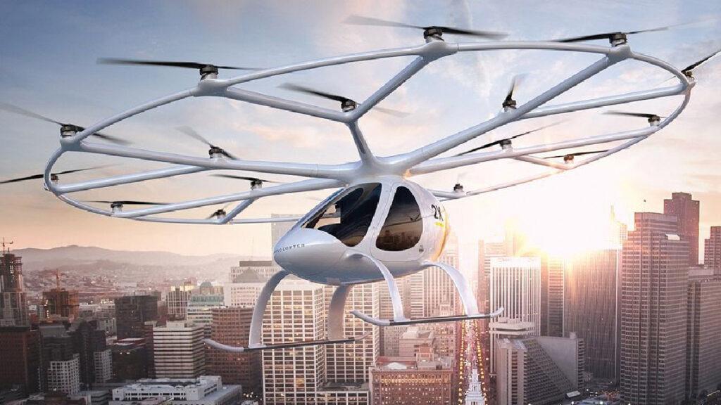 Volocopter Multirotor électrique.