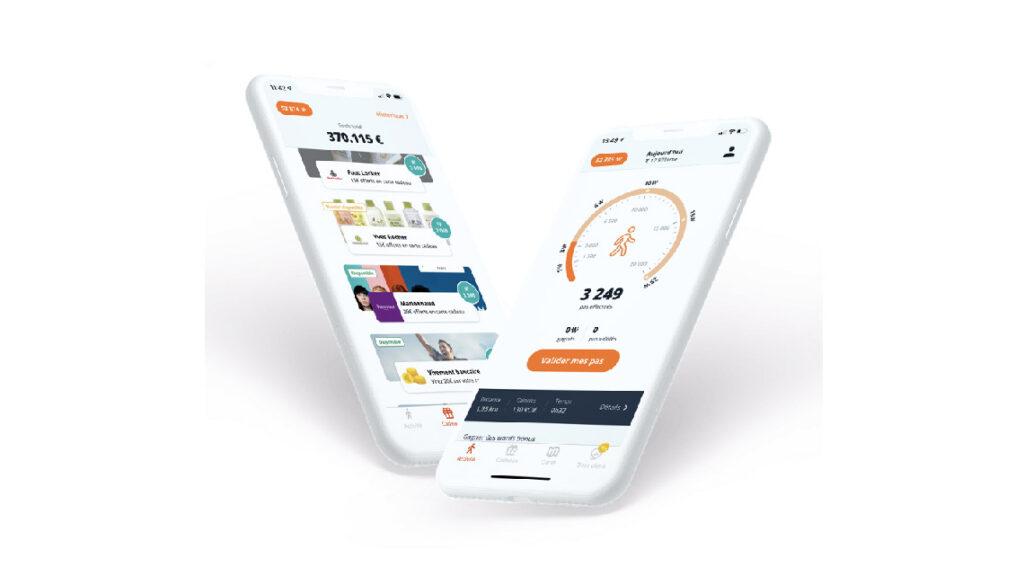 L'application mobile WeWard